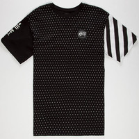 Neff Black N White Mens T-Shirt Black  In Sizes