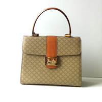 Vintage Celine Paris Horse Carriage Kelly Bag