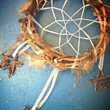Native American Dream Catcher Home Decor For Inside Or Out Tribal Wreath