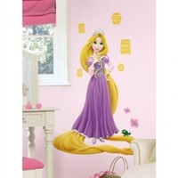 Disney Tangled Princess Rapunzel Glow in Dark Wall Decal