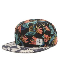 Volcom Queso Tropical 5 Panel Hat - Womens Hat - Allover Print - One