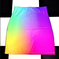 SWEET LORD O'MIGHTY! Unicorn Puke Skirt