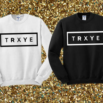 trxye sivan crewneck sweater available for men and woman unisex adult
