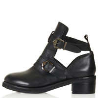 ARABEL2 Cut Out Heavy Boots - Topshop USA