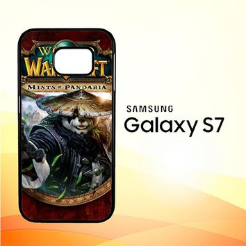 World of Warcraft Guardian Druid Mists of Pandaria Z0652 Samsung Galaxy S7 Case