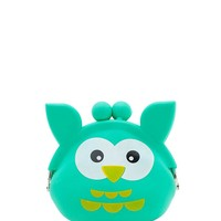 Happy Owl Kiss Lock Jelly Case