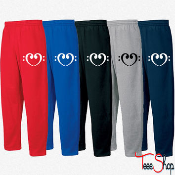 Bass Note heart 3 Sweatpants