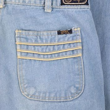 Vintage 1970s GAP Bell Bottom Jeans