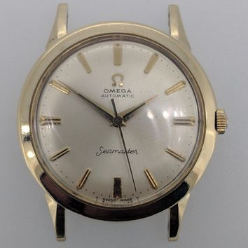 Vintage OMEGA SEAMASTER Automatic Watch 1960s Cal.550, Running in Great Shape!