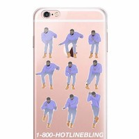Drake hotline blind phone case