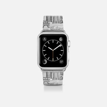 Los Angeles toile transparent apple watch band Apple Watch Band (38mm)  by Sharon Turner | Casetify
