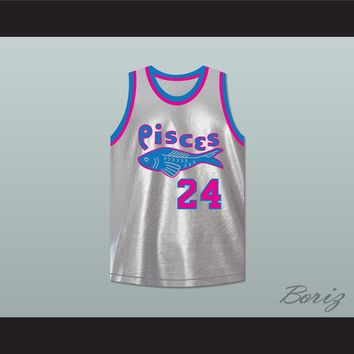 Joseph 'Driftwood' Hainey 24 Pittsburgh Pisces Basketball Jersey The Fish That Saved Pittsburgh