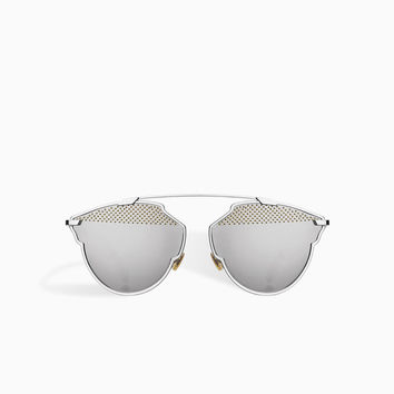 dior so real sunglasses, silver - Dior
