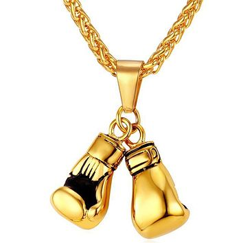 Boxing Gloves Necklace & Pendant Sport Jewelry