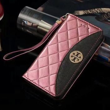 Tory Burch Phone Cover Case For Samsung Galaxy s8 s8Plus note 8 iphone 6 6s 6plus 6s-plus 7 7plus 8 8plus X-4