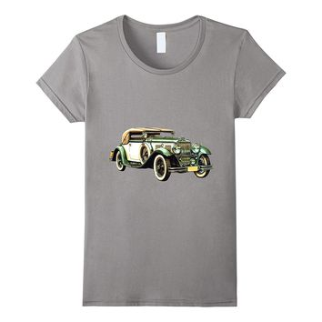Classic Car T-Shirt Vintage Automobile Convertible 3d Tshirt