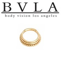 Body Vision BVLA Zara 14kt Gold Septum Ring Clicker 16g [25-0003 BVLA14ktZara16g] - $560.99 : Diablo Body Jewelry, The Art of High Quality