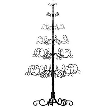 Patch Magic 7-Feet Christmas Tree, 41 by 41 by 84-Inch, Black