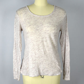 Lou & Grey Loft -Ann Taylor Size Large Cotton Top