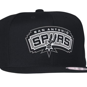the latest 1e99e f3445 San Antonio Spurs Team Color 2 Wool Snapback Hat