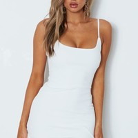 Luella Mini Dress White