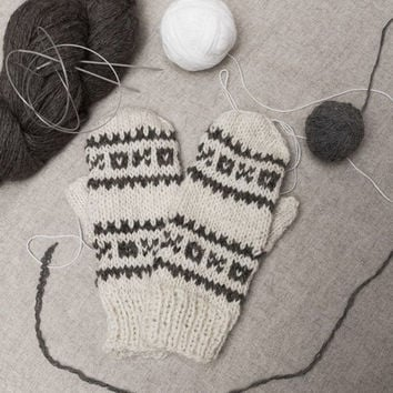Crochet Mittens, Wool Mittens, Winter Mittens, Womens Gloves, Wool Gloves, Knitted Gloves, Mens Gloves, Winter Gloves, Crochet Clothing