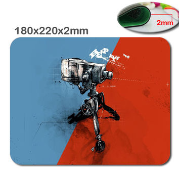 Team fortress 2 Anti - Slip fast Laptop mouse pad printing size 220 * 180 * 2 mm high  DIY soft rubber game mouse cool mouse pad