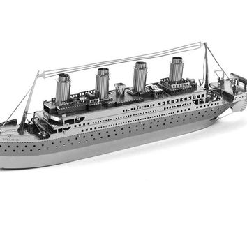DIY 3D Metal Models The Titanic [6268313094]