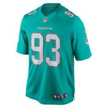 VLX9RV Nike NFL Miami Dolphins (Ndamukong Suh) Men's Football Home Limited Jersey