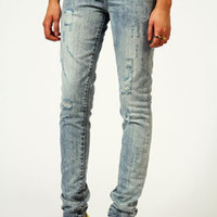 Bardot Heavily Distressed Skinny Jeans