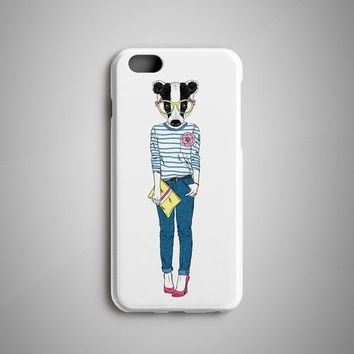 Badger Girl iPhone 8 Case iPhone 8 Plus Case