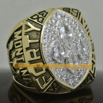 Sports Ring * 1989 San Francisco '49ers' World * Champions/ ...fast Delivery!
