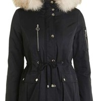 PETITE Short Padded Jacket
