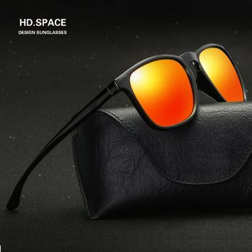 HD.space fashion Men and women colorful polarized sunglasses lunette de soleil femme sunglasses men polarized women sunglasses
