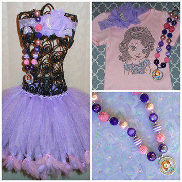 Princess Sofia Outfit, Birthday Sophia, Party Outfit, Theme Party, Princess Parties, rhinestone Sophia tee