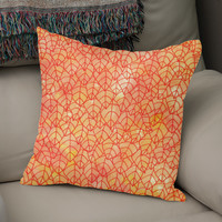 «Autumn foliage», Numbered Edition Coussin by Savousepate - From 25€ - Curioos