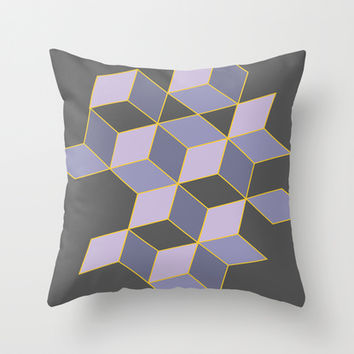 Off Color Throw Pillow by DuckyB (Brandi)