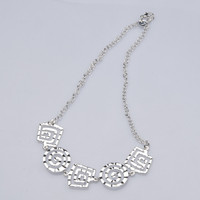 New Hot Women Sweet Fashion Chain Short Pendant Link Chain Necklace