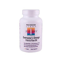 Rainbow Light Everyone's Omega Fish And Flax Oil (60 Softgels)