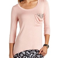 LONG SLEEVE POCKET TUNIC