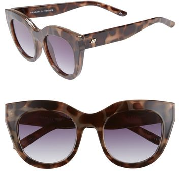 Le Specs Air Heart 51mm Cat Eye Sunglasses | Nordstrom