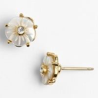 kate spade new york 'crystal corsage' stud earrings