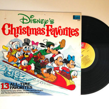 LP Album Disneys Christmas Favorites Vinyl Record Mike Sammes Singers Larry Groce 1979