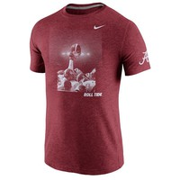 Nike Alabama Crimson Tide Victory Tri-Blend Tee
