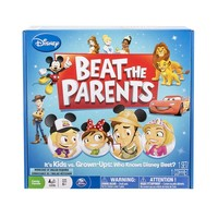 Disney Beat the Parents Trivia Game by Spin Master (Sand)