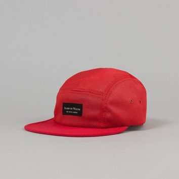 Raised By Wolves Algonquin Camp Cap - Koolknit Red