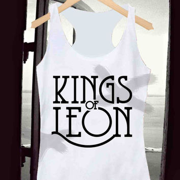 Kings of Leon _ Tank Top Men And Women Design By : Kotanxkatonx
