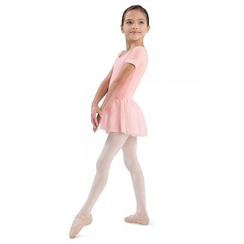 Bloch Girl's Short Sleeve Leotard w/Tutu