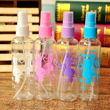 1Pcs Portable Bottle Makeup Container Refillable Atomizer Parfum Empty Spray Bottle Cosmetics Skin Care Water Bottle Travel Set