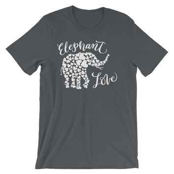 White Elephant Love T Shirt, Shipping Included!